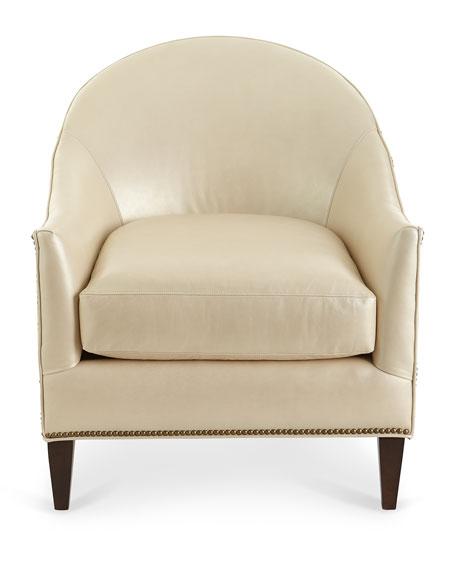 Matrene Leather Club Chair