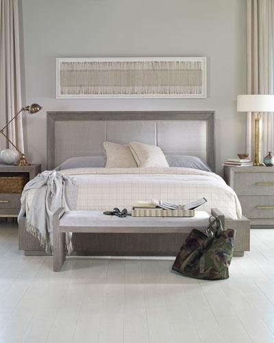 Kendall Velvet Upholstered California King Bed