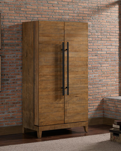 Benoist Reclaimed Bar Cabinet
