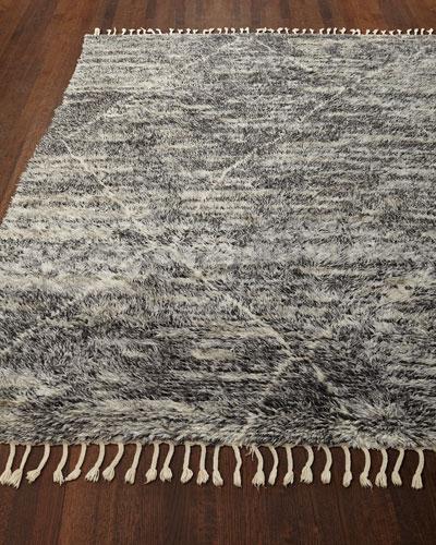 Reanna Hand-Knotted Shag Rug  5.6' x 8'