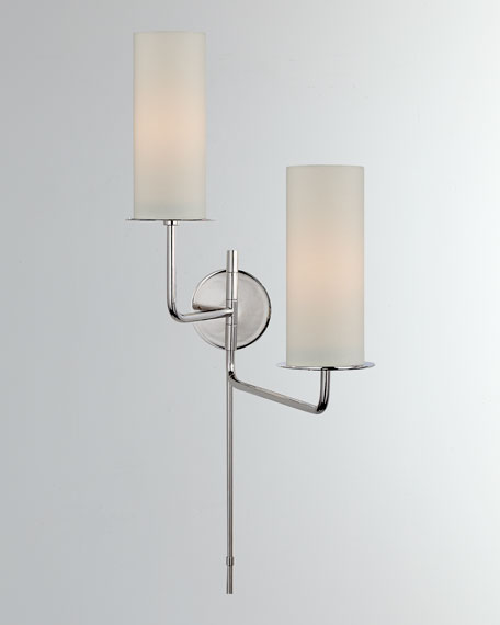 Larabee Double Swing Arm Sconce