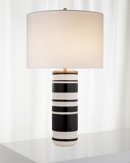 Hayes Sculpted Cylinder Table Lamp