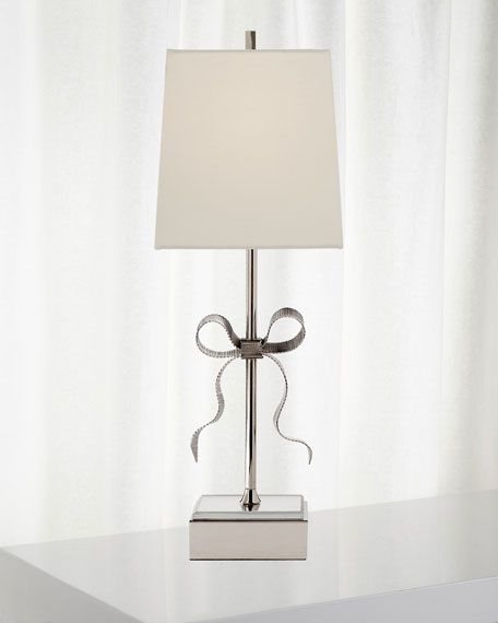 Ellery Grosgrain Bow Table Lamp