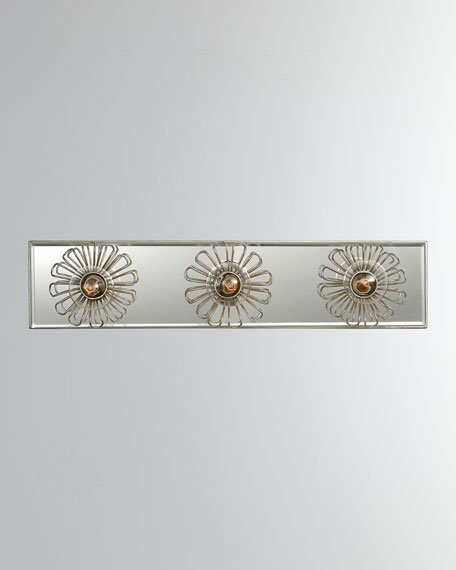 "Keaton 18"" Floral Vanity Light"