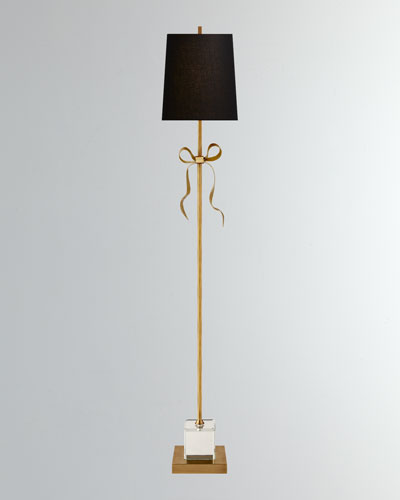 Ellery Grosgrain Bow Floor Lamp