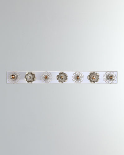Keaton 36 Floral Vanity Light