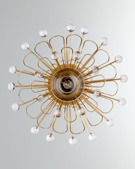 Keaton Wire Floral Sconce
