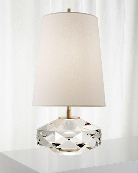 Castle Peak Glass Lamp