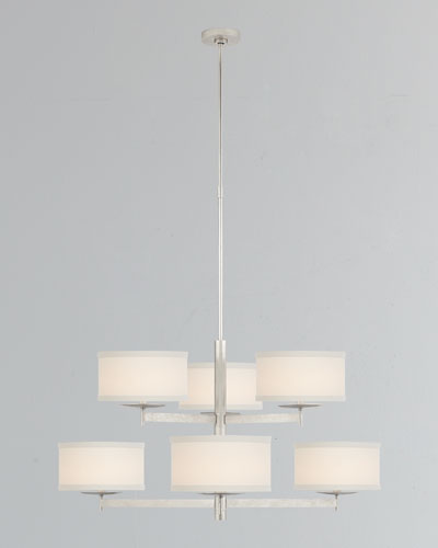 Walker Medium Two-Tier Chandelier