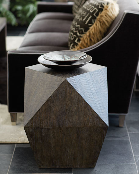 Bernhardt Linea Square Dimensional End Table