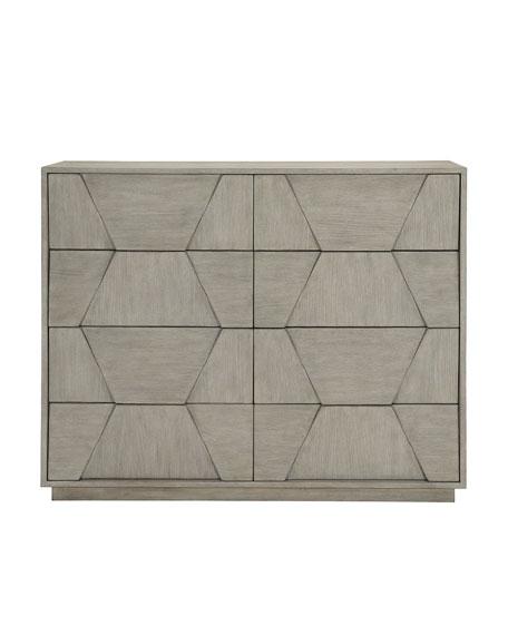 Linea Dimensional 8-Drawer Dresser