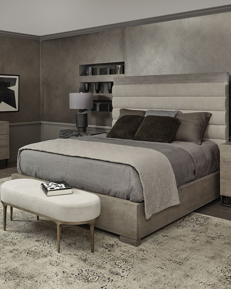 Linea Channel-Tufted California King Bed