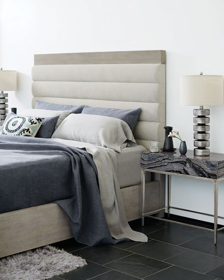 Linea Channel-Tufted King Bed