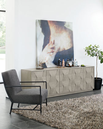 Linea 5-Door Entertainment Console