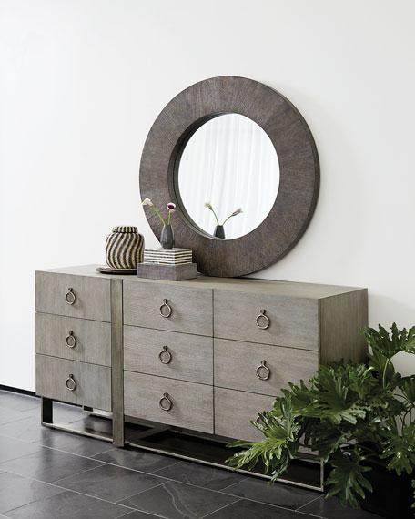 Bernhardt Linea Round Mirror