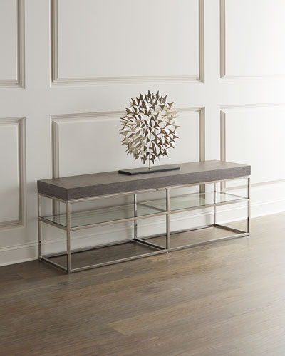 Riverside Low Console Table