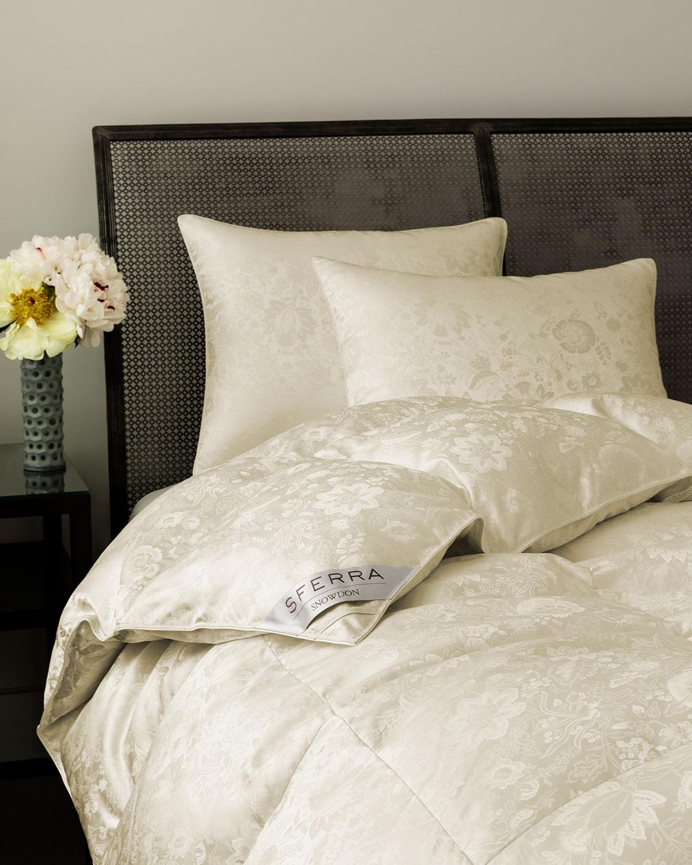 Sferra 900 Fill Canadian Down Medium Queen Pillow