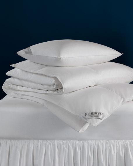 SFERRA 600-Fill European Down Firm Queen Pillow
