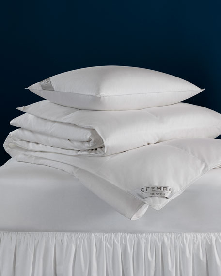 SFERRA 600-Fill European Down Medium Queen Pillow