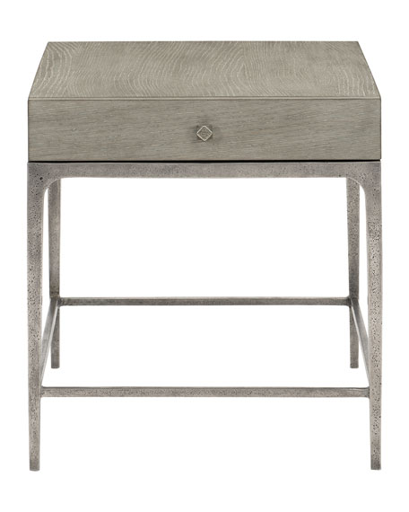 Bernhardt Linea Textured Finish End Table