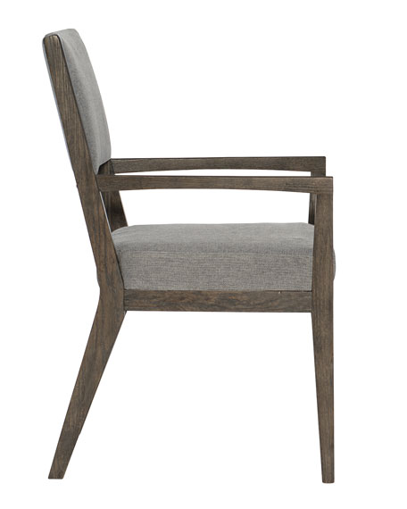 Linea Half-Back Arm Chair