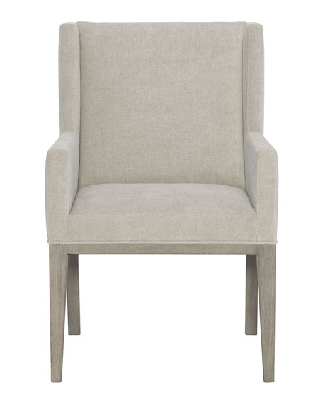 Linea Upholstered Dining Arm Chair