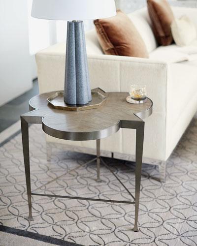 Santa Barbara Metal Frame Chair Side Table