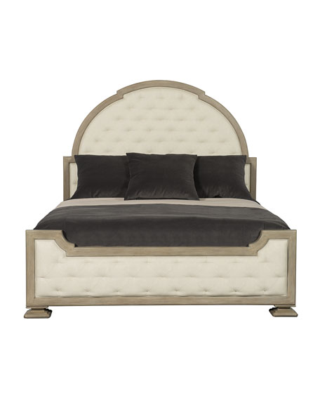 Santa Barbara Tufted California King Bed