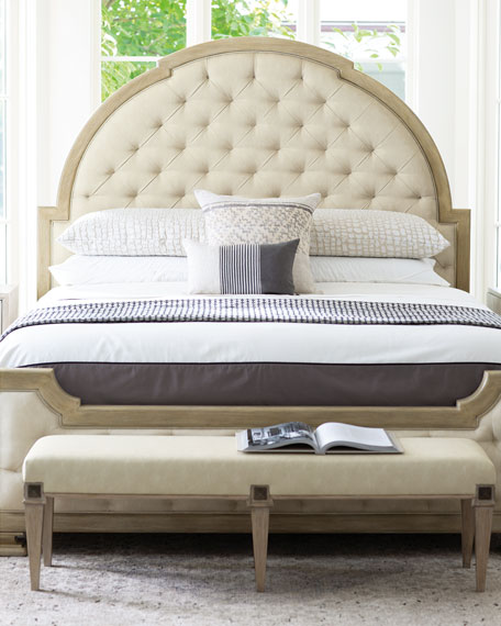Santa Barbara Tufted King Bed