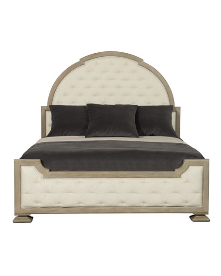 Santa Barbara Tufted Queen Bed