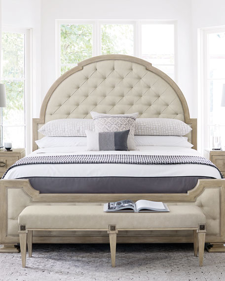 Santa Barbara Tufted Queen Bed