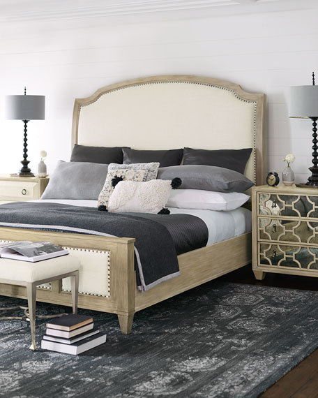 Santa Barbara Queen Sleigh Bed