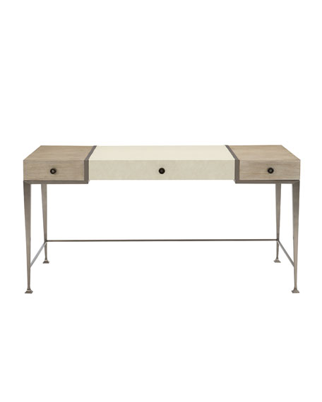 Santa Barbara Metal Frame Writing Desk