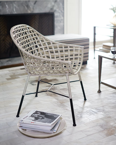 Cody Rattan Accent Chair