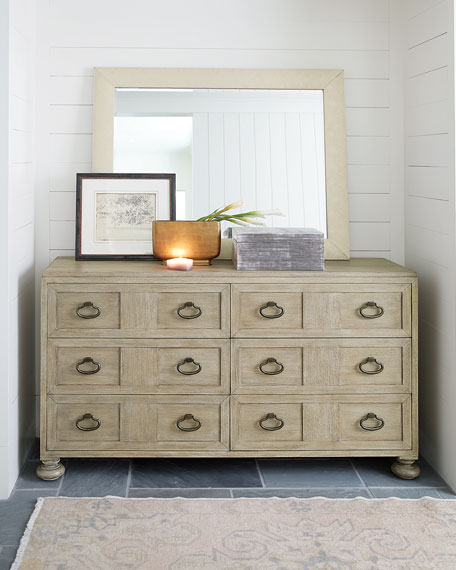 Santa Barbara 6-Drawer Dresser