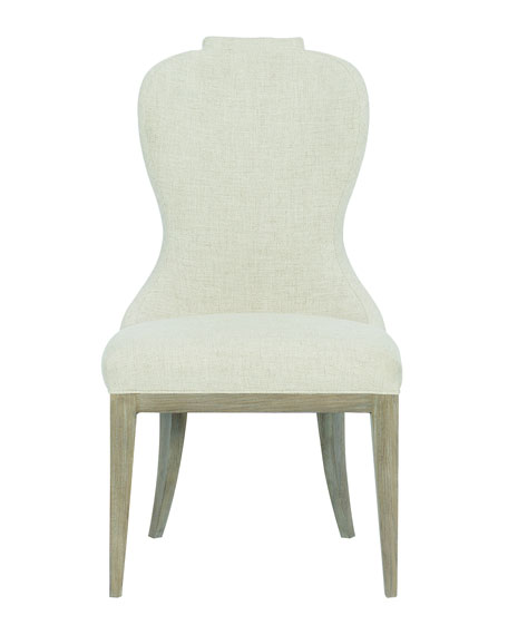 Santa Barbara Notched Side Chairs, Set of 2