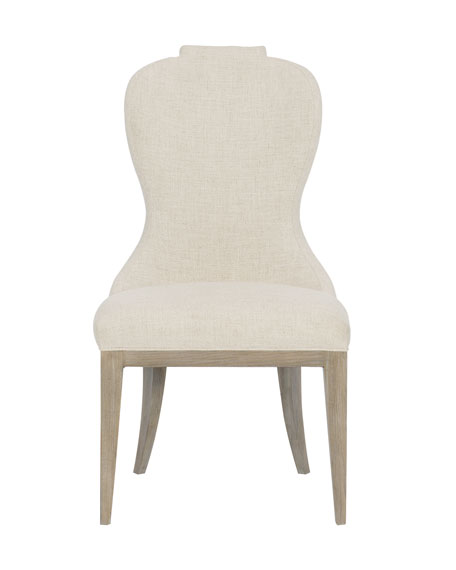 Santa Barbara Notched Side Chair