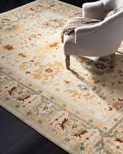 Claire Power-Loomed Rug  5'1 x 7'6