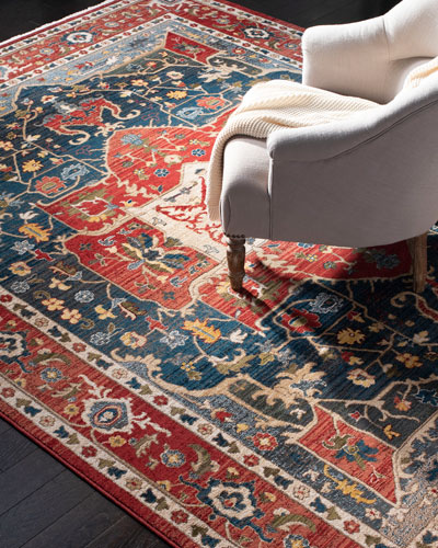 Camille Power-Loomed Rug, 5'1