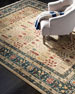 Marqaux Navy Power-Loomed Rug, 8' x 10'