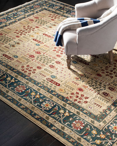 Marqaux Navy Power-Loomed Rug  10' x 13'