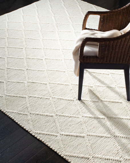 Millie Hand-Woven Rug, 4' x 6'