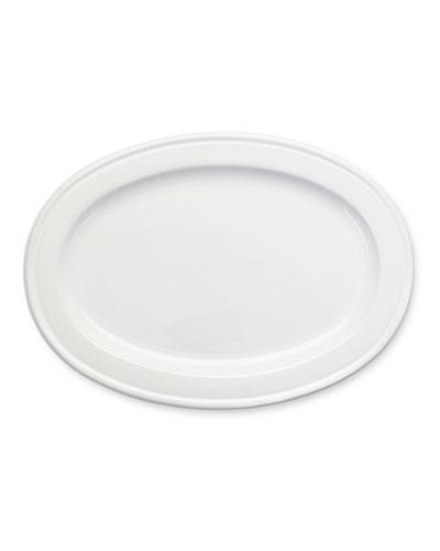 Medium Convivio Ceramic Oval Tray