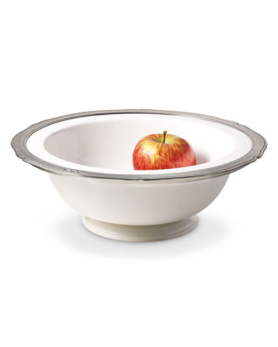 Large Viviana Round Footed Serving Bowl