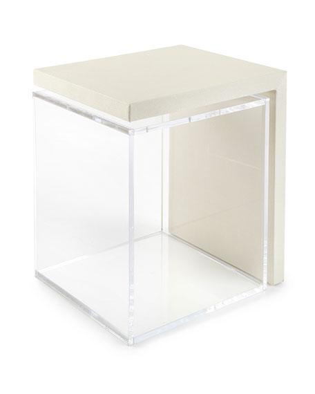 Mercer Acrylic Side Table