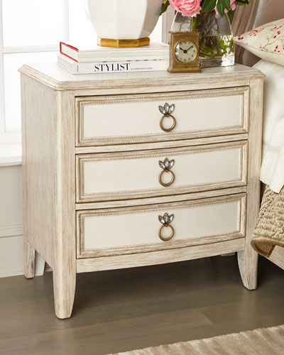 Genevieve 3-Drawer Night Stand