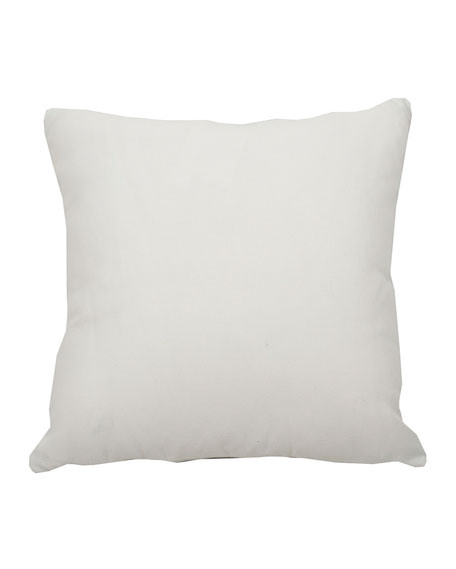 "Halo Stripe Kelly Pillow, 20""Sq."