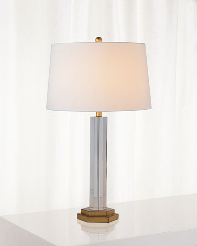James Crystal Table Lamp
