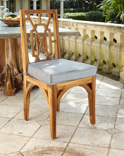 Pair of Teak Dining Chairs