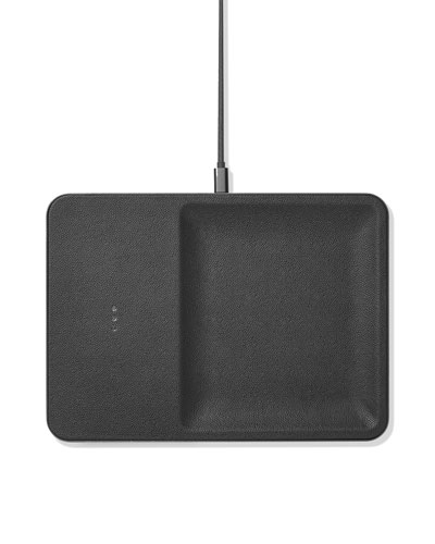 CATCH:3 Single Device Wireless Charging Station w/ Accessory Organizer  Ash